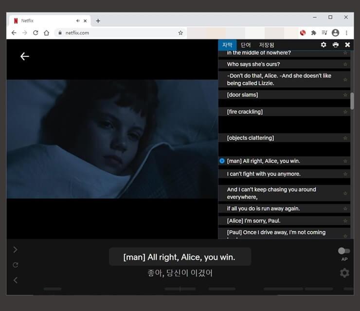 Netflix English subtitles 3